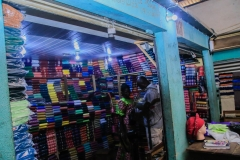 Ita-Osu-Market-Fabric-trader-enjoying-uninterrupted-power
